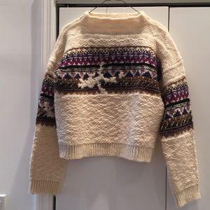Etoile Isabel Marant fair isle wool sweater